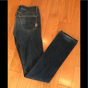 Rich & Skinny lightly distressed very good cond